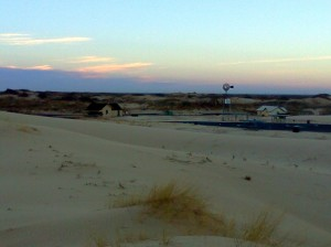 Sunrise at the Monahans Sandhills State Park