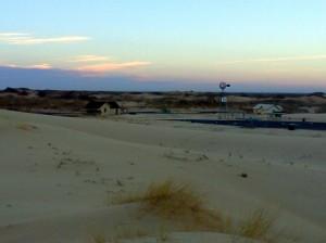 Sunrise at the Monahans Sandhills State Park
