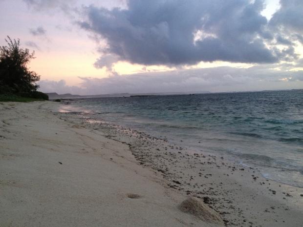 Last sunrise of 2013