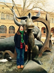 I found Thidwick the Big-Hearted Moose!