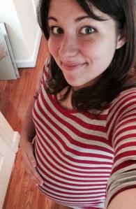 Shameless pregnancy selfie.
