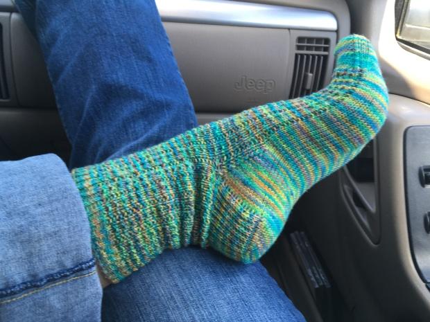 Hand Knit Socks Araucania Huasco